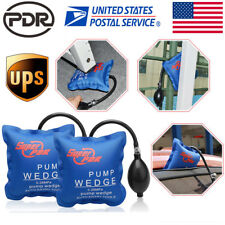 2pcs US Air Pump Wedge PDR Hand Tool Shim Automotive Inflatable Door Window Car