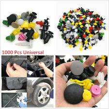 Universal Mixed 1000 Pcs Car Door Bumper Fenders Fastener Retainer Push Pin Clip
