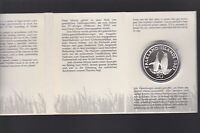 1987 FALKLAND ISLANDS 50 PENCE KING PENGUIN SILVER Coin World Wildlife Series