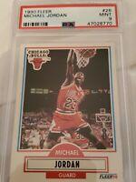1990 Fleer Michael Jordan #26 Basketball Card PSA 9 Mint