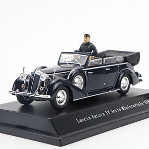 1/43 Lancia Astura IV Serie Ministeriale-1938 Diecast Car Model with Figures