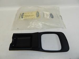 New OEM 1985 & Up Ford Merkur Interior Center Console Trim Black E5RY6104567B