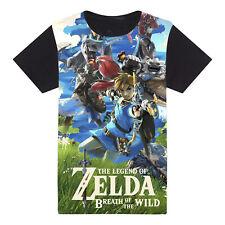 Zelda nintendo t-shirt. Legend of Zelda breath of the Wild gamer tee