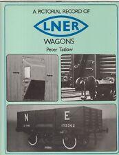 LNER MINERAL OPEN BOLSTER CATTLE WAGONS & BRAKE VAN FOR MODELLER/HISTORIAN BOOK