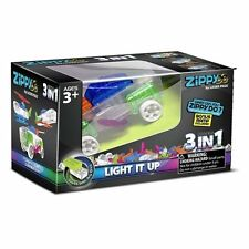 Laser Pegs, 3-in-1 Zippy Do Car, Building Set - Kids Light up Construction Kit,