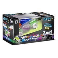 Laser Pegs, 3-en-1 Zippy Do Car, Ensemble De Construction - Enfants Lumineux Kit