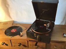 Vintage Brunswick Panatrope Gramophone Rare c.1950's Portable Working UK