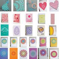 Various Frame Flower Heart Circle Metal Cutting Dies Scrapbooking Stencil Album