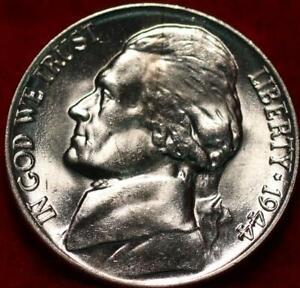 Uncirculated 1944 Philadelphia Mint Silver Jefferson Nickel