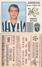 CALCIATORI PANINI 1979/80*FIGURINA STICKER N.145*JUVENTUS,ROBERTO BETTEGA *NEW