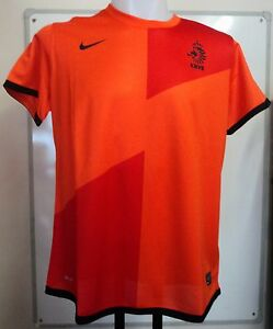 HOLLAND 2012/13 LADIES S/S HOME SHIRT BY NIKE SIZE LADIES EXTRA SMALL BRAND NEW