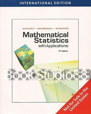 NEW 3 Days US Mathematical Statistics with Applications 7E Wackerly 7th Edition