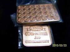 ONE TROY OUNCE OF.999 FINE COPPER ART BAR BRAND NEW