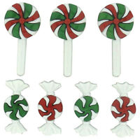"Dress it Up ""Christmas Candy"" Buttons"