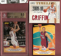 BLAKE GRIFFIN 3 CARDS BGS 9.5 GEM MINT ROOKIE CARD+RC JERSEY #d16/49 +PANINI RC