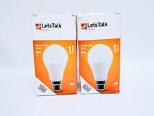 Charis SMART LED B22 9W Light Bulb - Stays On When Power Cuts Off PACK of 2