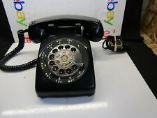 Vtg Bell System Desk Telephone G3 Black Metal Rotary Dial Western Electric. Z816