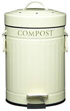 Kitchen Craft - Pedale Bidone per il Compost (3 L)