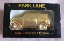 Miniature Collectors Clock Novelty Range Rover , Sale Pice as Needs New Battery
