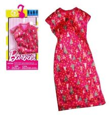 Barbie FCT12 DWG12, vestito rosa triangoli Pink Geo Print, Mattel