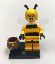 Genuine LEGO Minifigure Bumblebee Girl - Complete - from Series 10 - col151