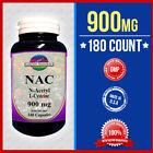 NAC N-Acetyl Cysteine 900mg Free Radical Protect 180 Capsules Fresh Made USA