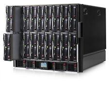HP BladeSystem C7000 Gen 2 con 16x BL460c G7 Lama 32x Six-Core 1536gb RAM 4.6TB