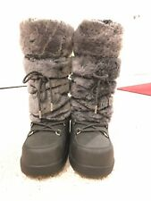 Ugg Australia Cottrell Boots Gray 6 Shearling Moon Snow Boots Winter NWOB