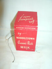Vintage Sewing Kit--MIDDLETOWN MILK NY/NJ? --Matchless Mender--Orig.1940's
