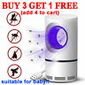Safe Electric Mosquito Killer Lamp Indoor Fly Bug Insect Zapper Trap LED Light!