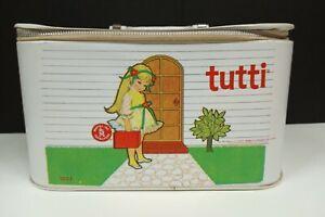 Vintage 1965 Barbie Tutti Vinyl Case (B1)
