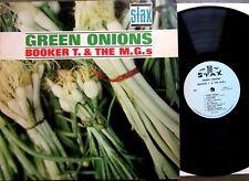 BOOKER T.& The MG's~GREEN ONIONS~1962 U.S.1st Press~STAX-MONO 701~ NEAR MINT LP
