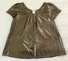 "La ROK Women's Metallic Top size ""L"""