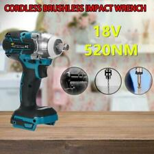 Torque Impact Wrench Brushless Cordless Replacement For Makita Battery