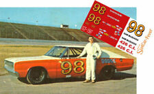 CD_1597 #98 Sam McQuagg  1966 Dodge Charger   1:24 Scale DECALS