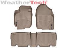 WeatherTech DigitalFit FloorLiner for Toyota RAV4 - 2006-2012 -1st/2nd Row-Tan