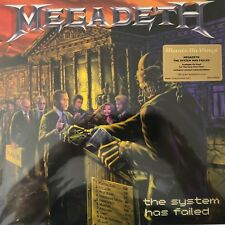 Megadeth - 'The System has Failed'(180g LTD. Purple Vinyl LP), 2013 MOVLP684