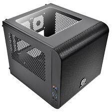 Thermaltake Core V1 Mini-ITX Cube PC Gaming Case 200mm Fan 2 x USB3 Side Window