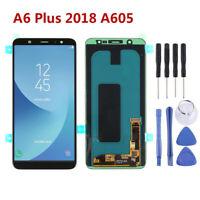 Para Samsung Galaxy A6 Plus 2018 A605 Pantalla LCD Pantalla táctil Negro RHN02