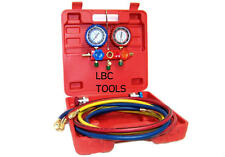 R134A Refrigeration Air Conditioning AC Diagnostic Manifold Gauge Tool  R12 R22
