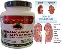 KIDNEY DETOX NATURAL SUPPLEMENT HEALTH CLEANSE KIDNEY AND LIVER  120 caps