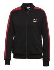 PUMA X FUBU T7 Women's Exclusive Limited Edition Jacket Black Red Size XL