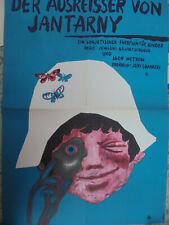 709 DDR Filmplakat gefaltet movie poster A2  DER AUSREISSER VON JANTARNY 1969