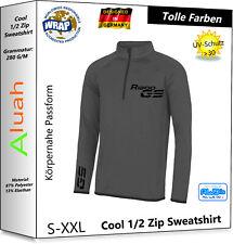 R1200GS Funktions Zipper Pullover Shirt f BMW Fans Motorrad Rallye Exclusive GS