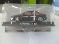 miniature 1/43 ALFA ROMEO 159 carabinieri de 2006 neuve