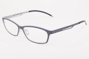 Orgreen BLACK MAMBA 337 Matte Gray / Matte Light Gray Titanium Eyeglasses 57mm