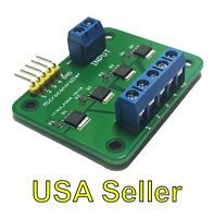 MOSFET breakout board module switch relay (15A, 30V) 4-outputs for Arduino/RPi