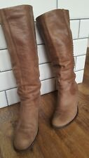 Vintage FAITH knee high leather boots size 8