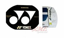 Yonex Badminton Racket Stencil and Babolat White Stencil Ink Marker