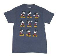 Disney Mickey Mouse Expressions Distressed Disneyworld Disneyland Mens T Shirt